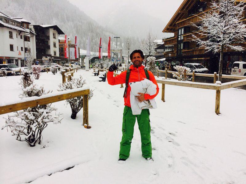 Kenneth in de Sneeuw