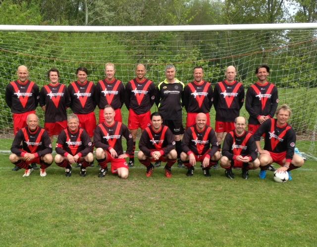 Teamfoto mei 2015